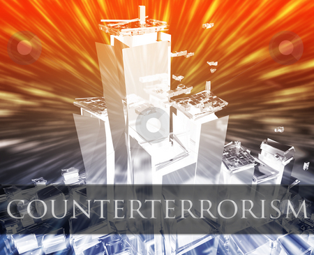 Terrorism counterterrorism stock photo, Terrorist terror attack counterterrorism terrorism bombing concept illustration by Kheng Guan Toh