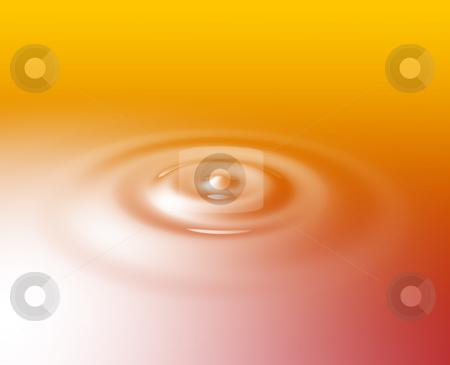 Ripples circular rings stock photo, Liquid ripples with circular rings, glossy reflective surface by Kheng Guan Toh
