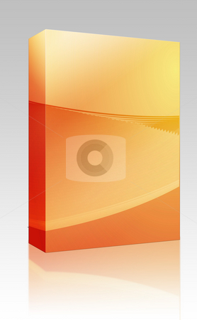 Abstract wallpaper box package stock photo, Software package box Abstract wallpaper illustration of geometric design colors by Kheng Guan Toh