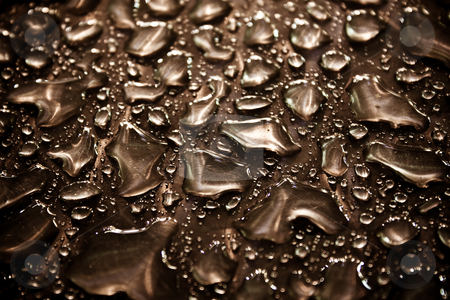 Water drops stock photo, A close up of a group of waterdrops by Jan Schering