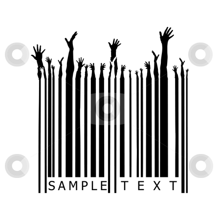Party barcode stock vector clipart,  by ojal_2