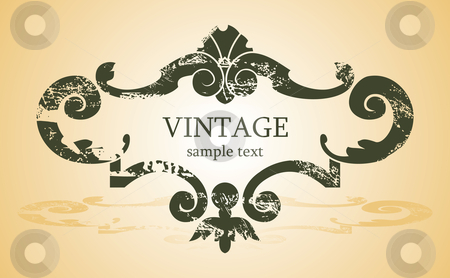 Vintage background stock vector clipart,  by ojal_2