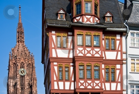 Frankfurt's Landmarks stock photo, Frankfurt's Landmarks by Interlight