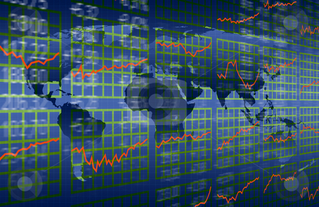 Stock market growth stock photo, Stock market growth by Jan Turcan