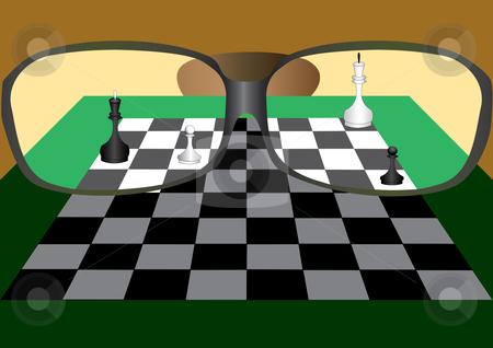Chess stock vector clipart,  by Aleksandr Korablin
