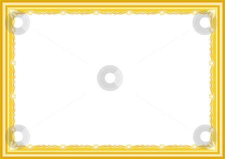 Picture frame stock vector clipart,  by Aleksandr Korablin