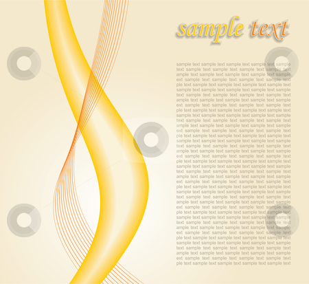 Abstract background stock vector clipart, Curly abstract background - vector illustration by ojal_2