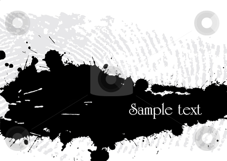 Abstract grunge background stock vector clipart, Abstract grunge background made from splashes - vector illustration by Ilyes Laszlo