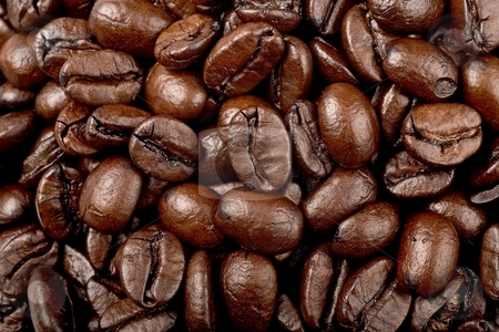 Coffee stock photo, Coffee beans by Barna Tanko