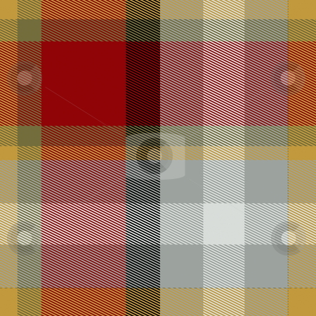 Tartan plaid stock photo, Tartan plaid fabric pattern cloth woven background design by Kheng Guan Toh