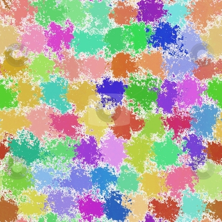 Paint splotches stock photo, Paint splotches splashes rough abstract seamless background wallpaper by Kheng Guan Toh