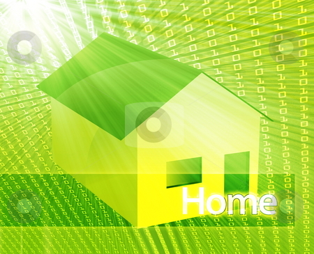 Online housing stock photo, Online housing real estate internet websate ecommerce by Kheng Guan Toh