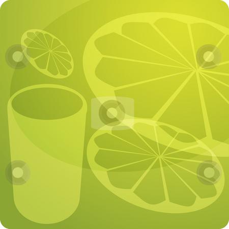 Orange Juice stock photo, Stylized panel design illustration of orange juice by Kheng Guan Toh