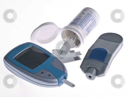 Diabetes Testing stock photo, Diabetes Testing by Jim DeLillo