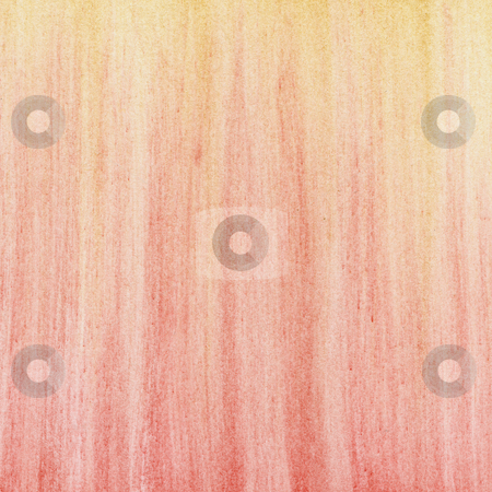 Red yellow pastel abstract background stock photo, Red yellow abstract background - vertical smudges of soft pastel crayons on white paper by Marek Uliasz