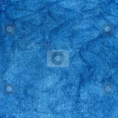 Blue rough texture - watercolor background stock photo, Blue watercolor painted abstract with scratch paper texture, self made by Marek Uliasz