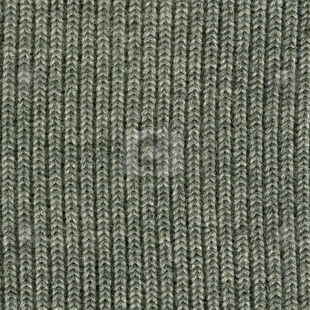 Gray knitted wool sweater texture stock photo, Close-up of gray knitted wool sweater texture, vertical thread patterns by Marek Uliasz