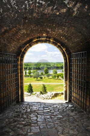 Kalemegdan fortress in Belgrade stock photo, Gateway to Kalemegdan fortress in Belgrade Serbia by Elena Elisseeva
