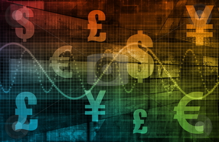 World Currencies stock photo, World Currencies as a Financial Illustration Art by Kheng Ho Toh