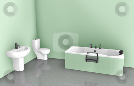Interior Design Photography on Bathroom Interior Design Stock Photo  Bathroom Interior Design On Tub