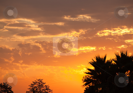 Beautifully Dramatic Sunrise or Sunset stock photo, Beautifully Dramatic Sunrise or Sunset with Clouds. by Andy Dean