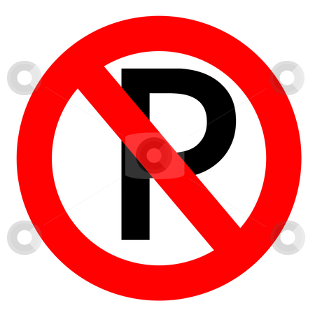 No parking  stock photo, No parking sign by Georgios Kollidas