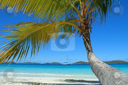 Tranguility stock photo, Shot on Salomon Beach St John USVI by Richard Sheehan