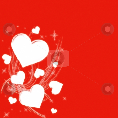 Valentine Special stock photo, Valentine card grafic by CHERYL LAFOND
