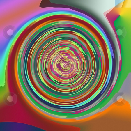 Colorful Lollipop Abstract stock photo, Colorful Lollipop Abstract by CHERYL LAFOND