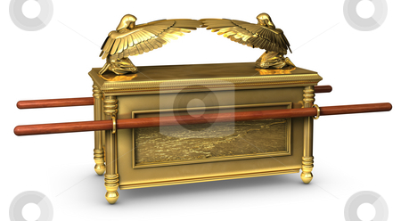 Ark of the Covenant stock photo, Legendary Ark of the Covenant from the Bible by James Steidl