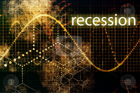 Recession stock photo, Recession Economy Business Concept Wallpaper Presentation Background by Kheng Ho Toh