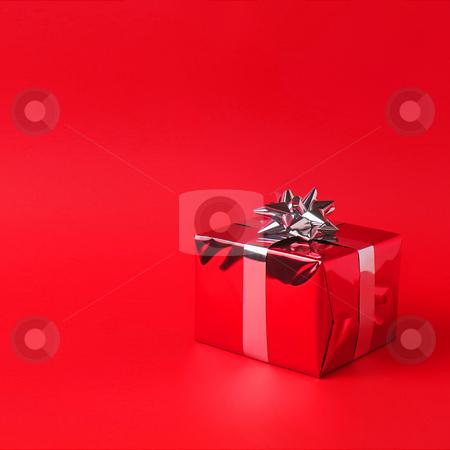 Pink Gift Box stock photo, Birthday, christmas, holiday, valentine giftbox on background by Adam Radosavljevic