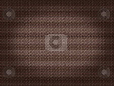 Brick Background Spot Light stock photo, Brown brick background with a spot light by Henrik Lehnerer