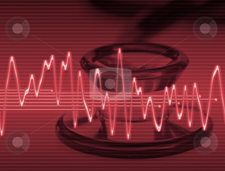 Medical technology stock photo, Large abstract image for medical technology or trauma by Phil Morley