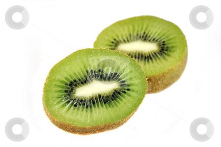 Slices of  kiwi.  stock photo, Slices of  kiwi isolated over white. by Liana Bukhtyyarova