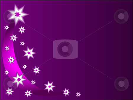A christmas background with mauve and white stars  stock vector clipart, A christmas background with mauve and white stars and room for text by Mike Price