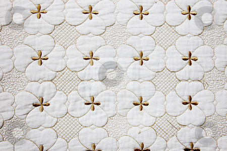 Background stock photo, Gold Shapes over white background. Abstract texture by Giuseppe Ramos