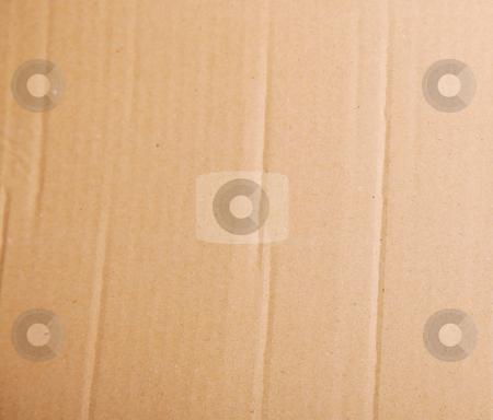 Carton stock photo, Brown carton background. Empty to insert text or design by Giuseppe Ramos