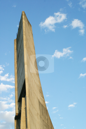 Wall climbers tower stock photo, Wall climbing tower at sports centre by Sean Nel
