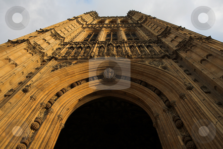 Westminster #1 stock photo, The buildings of the House of Parliament by Sean Nel