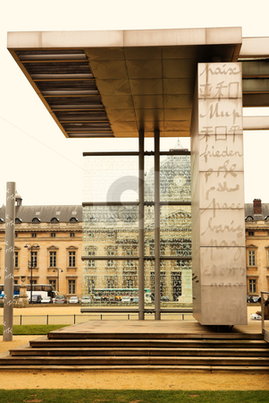 Paris #2 stock photo, The Monument of Peace in Paris, France  by Sean Nel