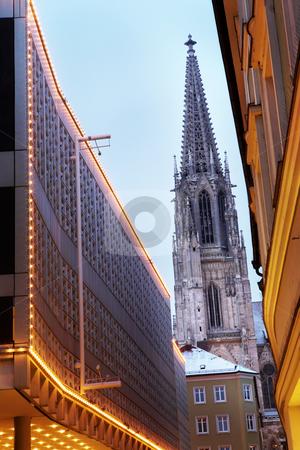Regensburg#35 stock photo, Cathedral in Regensburg by Sean Nel