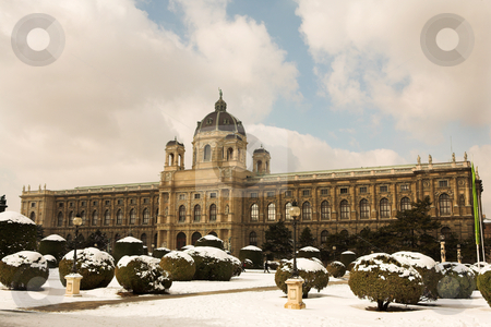 Vienna #7 stock photo, The Museum of Fine Arts in Vienna, Austria by Sean Nel