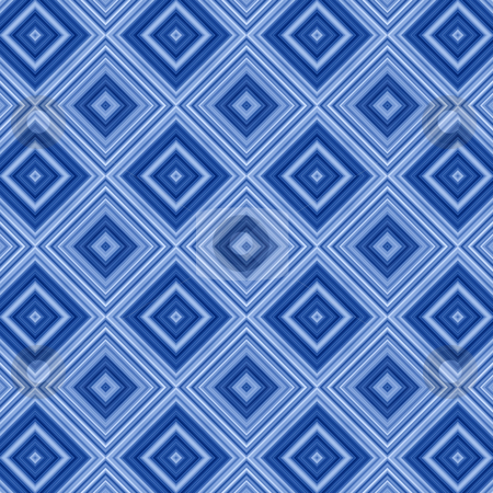 Blue diamond pattern abstract background. stock photo, Blue diamond pattern abstract background. by Stephen Rees