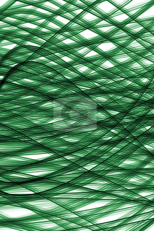 Green light lines abstract pattern background. stock photo, Green light lines abstract pattern background. by Stephen Rees