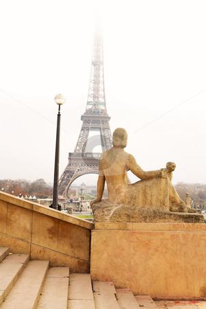 Paris #41 stock photo, The Eiffel Tower in Paris, France. by Sean Nel