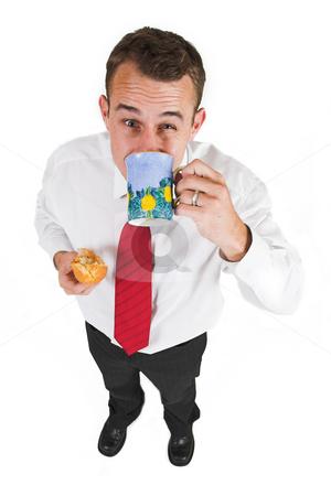 Businessman #41 stock photo, Business man taking a break by Sean Nel