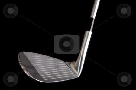 Golf Clubs #12 stock photo, Professional Golf Clubs: 7-iron  by Sean Nel