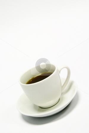 Espresso stock photo, White espresso coffee by Sean Nel