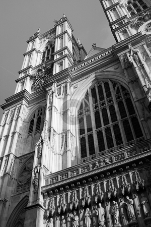 London #59 stock photo, Westminster Central hall, London. Black and white. by Sean Nel